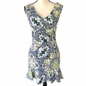 NEW Marchesa Voyage Floral Fit & Flare Dress 6